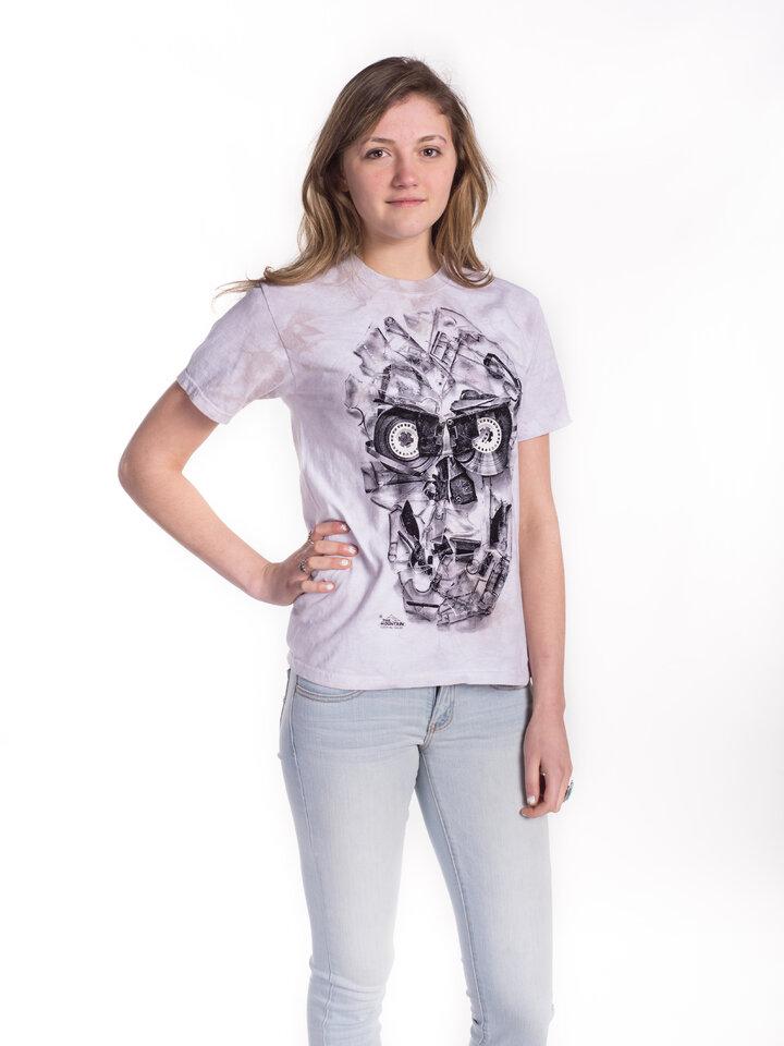 Geschenk von Dedoles T-Shirt  Bänderschädel