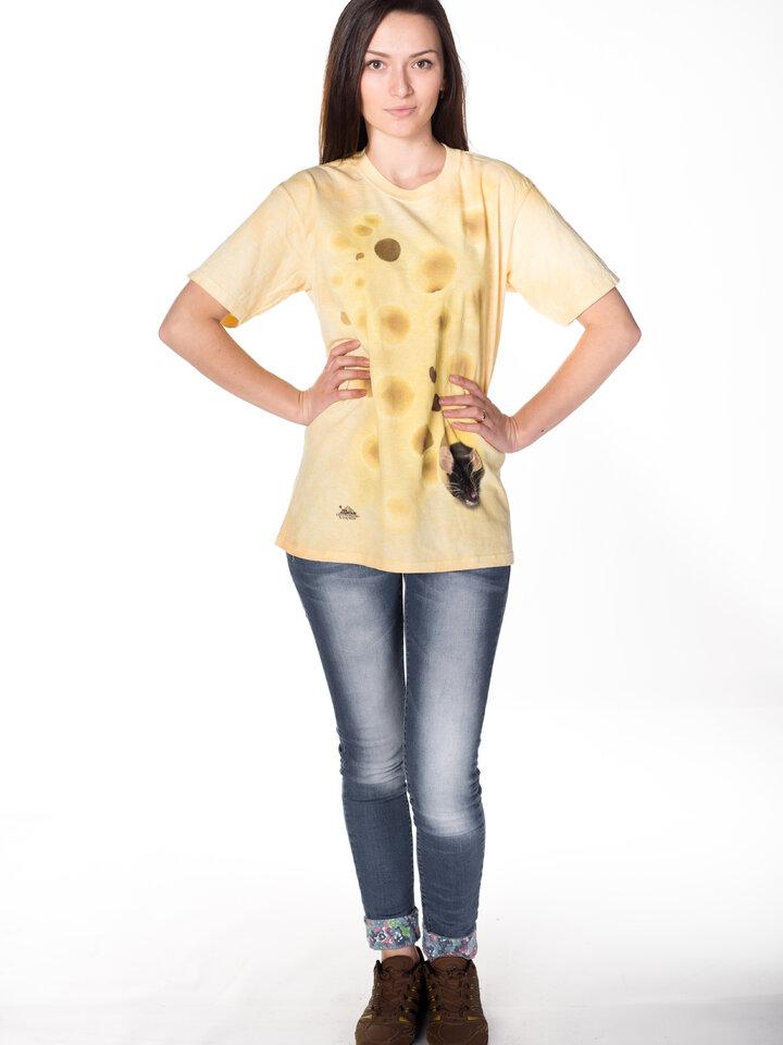 pro dokonalý a originální outfit Tričko Myš se sýrem