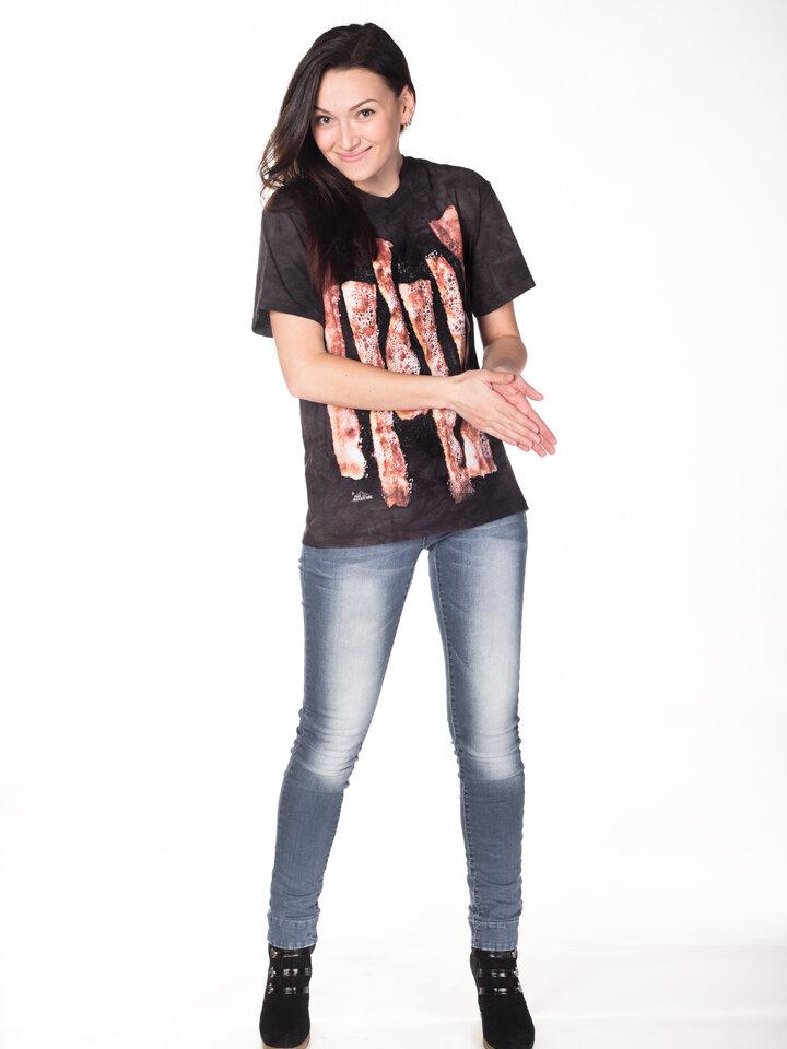 für ein vollkommenes und originelles Outfit T-Shirt Speck