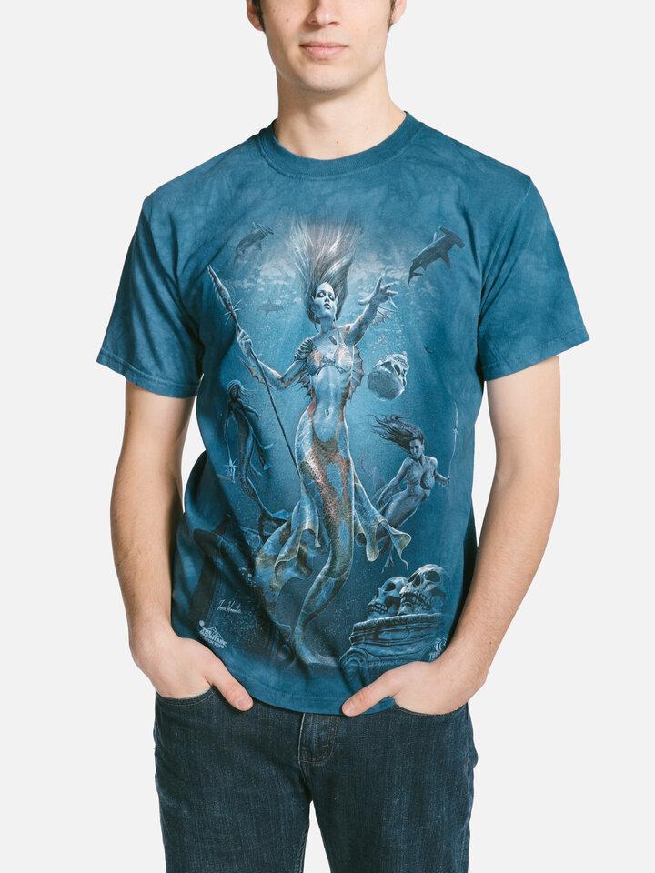 Bereiten Sie sich Freude mit diesem Dedoles-Stück T-Shirt Seejungfrauen auf Jagd