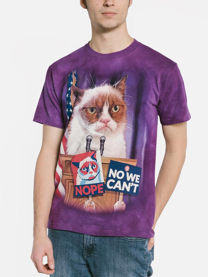 Geschenktipp T-Shirt Grumpy Cat zum Präsidenten