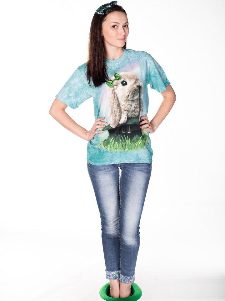 Bereiten Sie sich Freude mit diesem Dedoles-Stück T-Shirt Irischer Hase