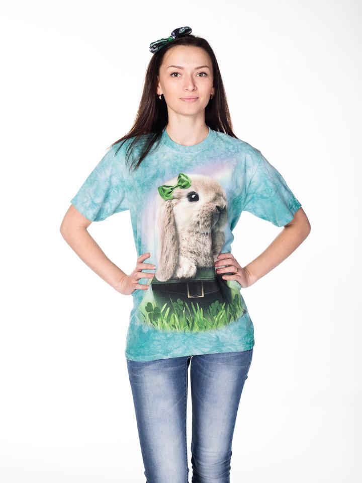 Foto T-Shirt Irischer Hase