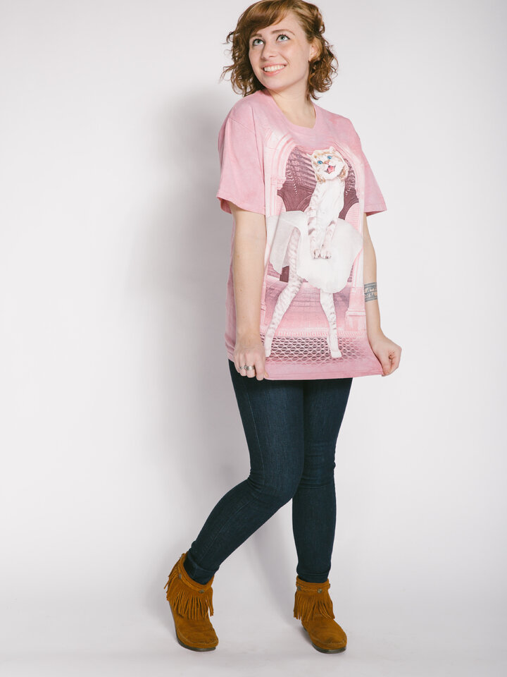 Lifestyle foto Tričko Mačacia Marilyn