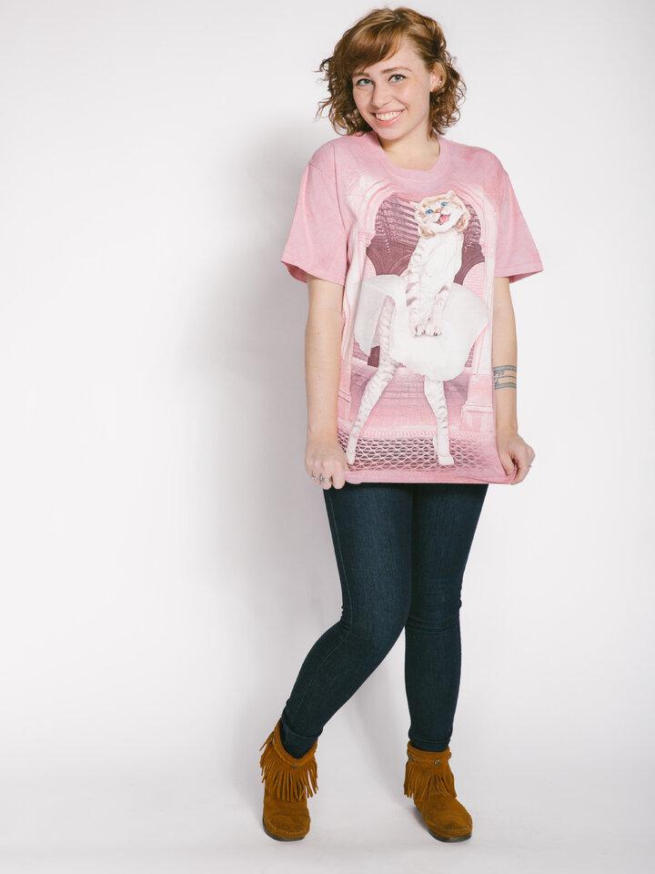 Tip na darček Tričko Mačacia Marilyn