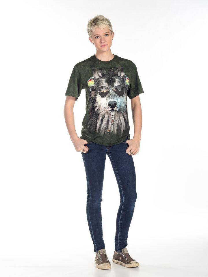 Ausverkauf T-Shirt Rasta Wolf