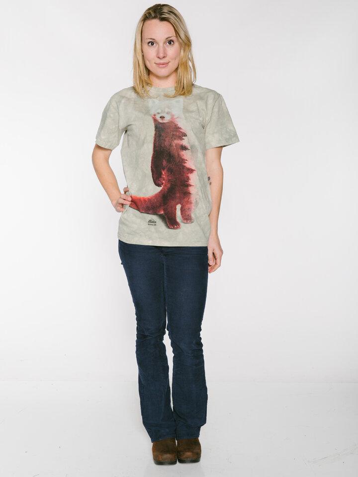 Bereiten Sie sich Freude mit diesem Dedoles-Stück T-Shirt Roter Panda und Wald