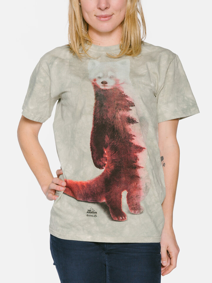 Lifestyle foto Tricou Red Panda Forest