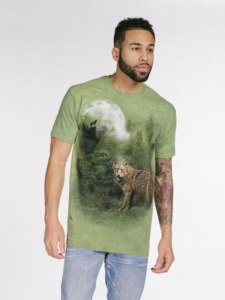 pro dokonalý a originální outfit Tričko Duch lesa