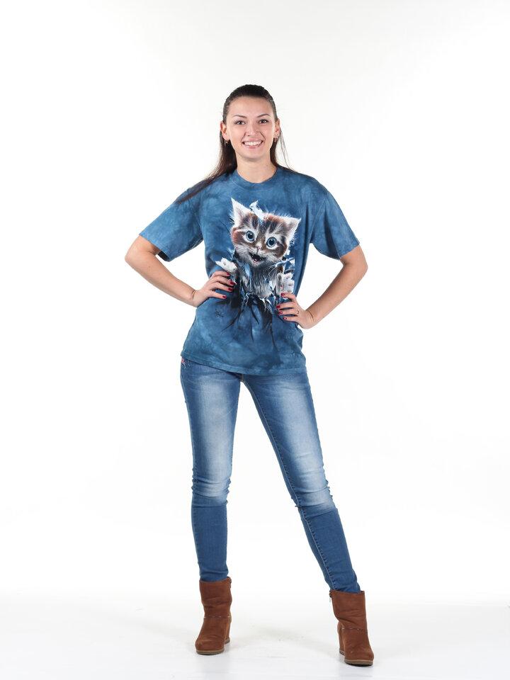 Výprodej Tričko 3D Zrzavá kočička