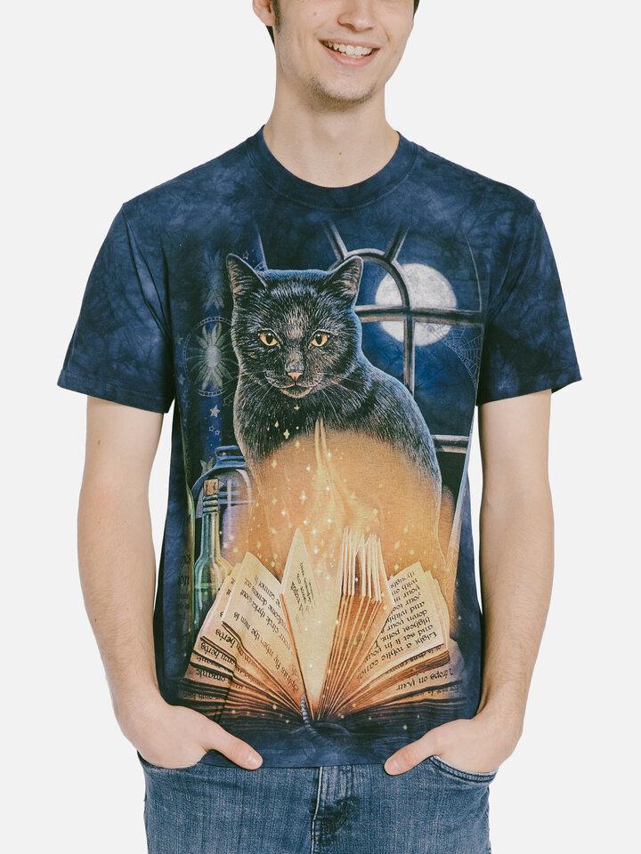 Výprodej Tričko Kočka čarodějnice