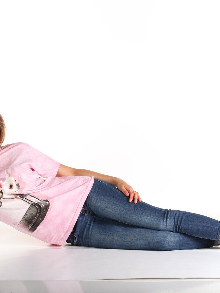 pro dokonalý a originální outfit Tričko Čivava v kabelce