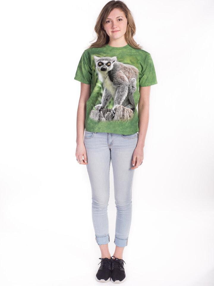 Výnimočný darček od Dedoles T-shirt Life of Lemur