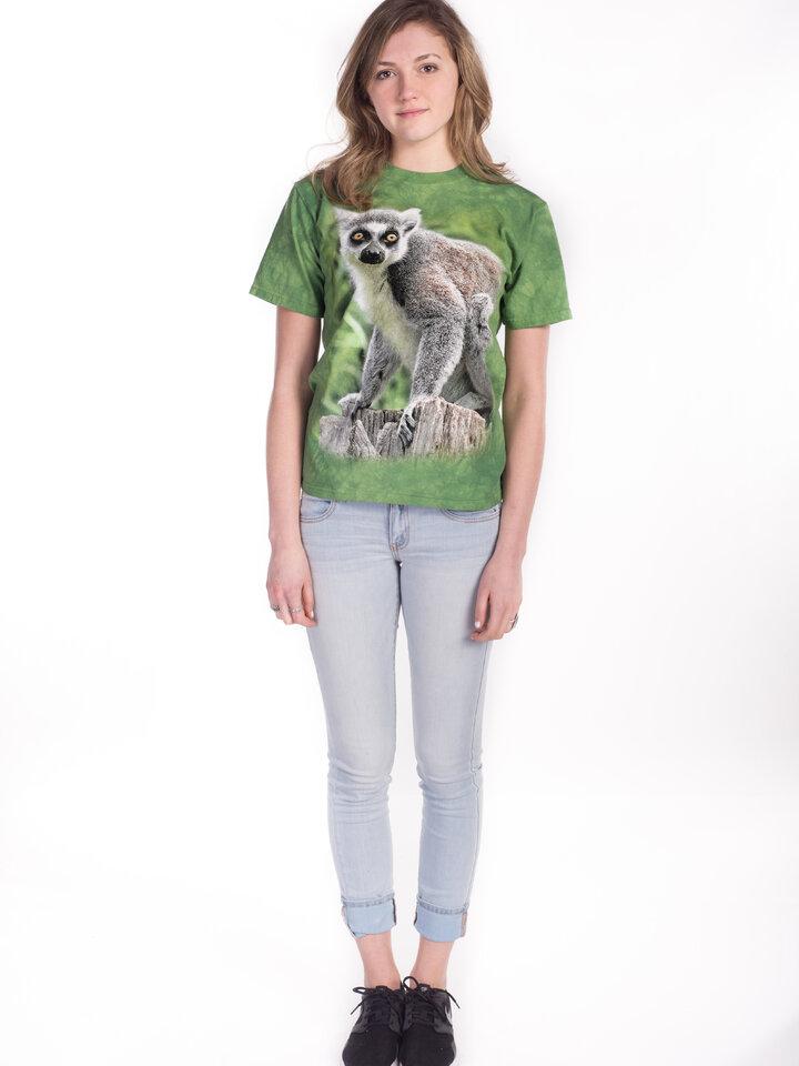 Lifestyle-Foto T-Shirt Leben des Lemuren