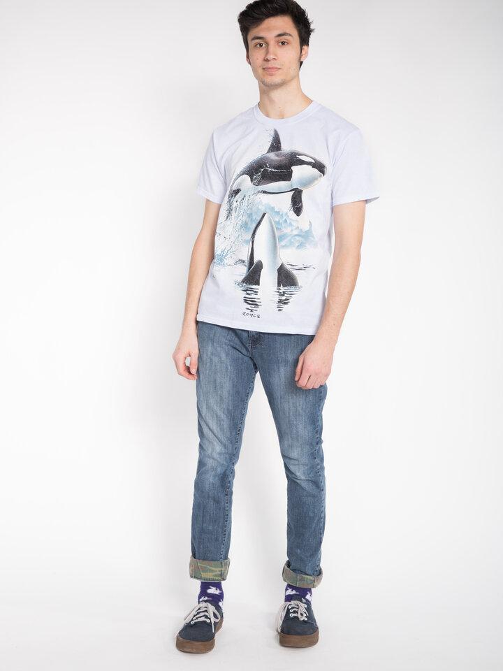 Rabatt T-Shirt Schwertwale