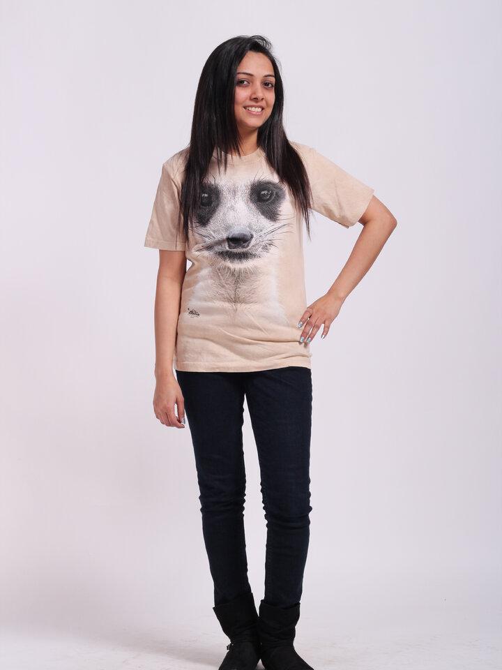 Kedvezmény Szurikáta arc póló