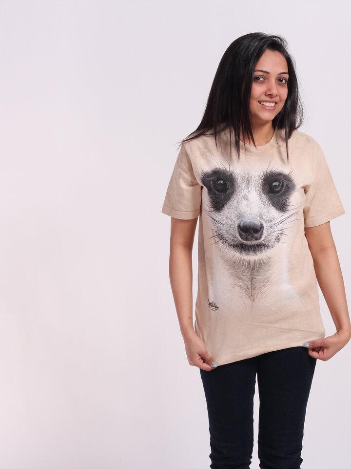 a tökéletes és egyedi ruházathoz Szurikáta arc póló