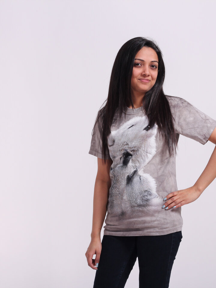 für ein vollkommenes und originelles Outfit T-Shirt Tanz mit Wölfen