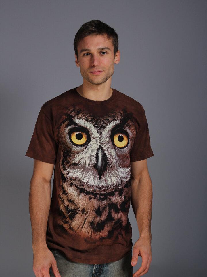 Tip na dárek Tričko Soví oči