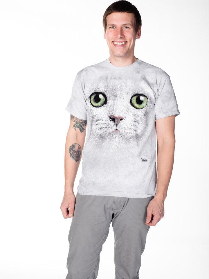 Tip na dárek Tričko Kočka se zelenýma očima