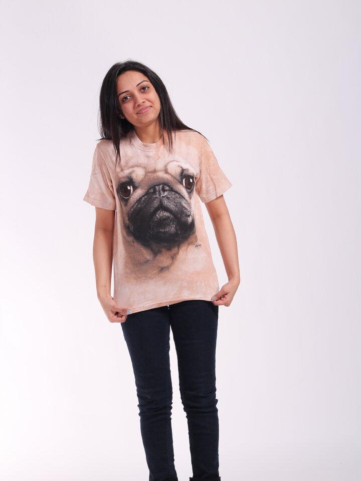 Zľava T-shirt Pug