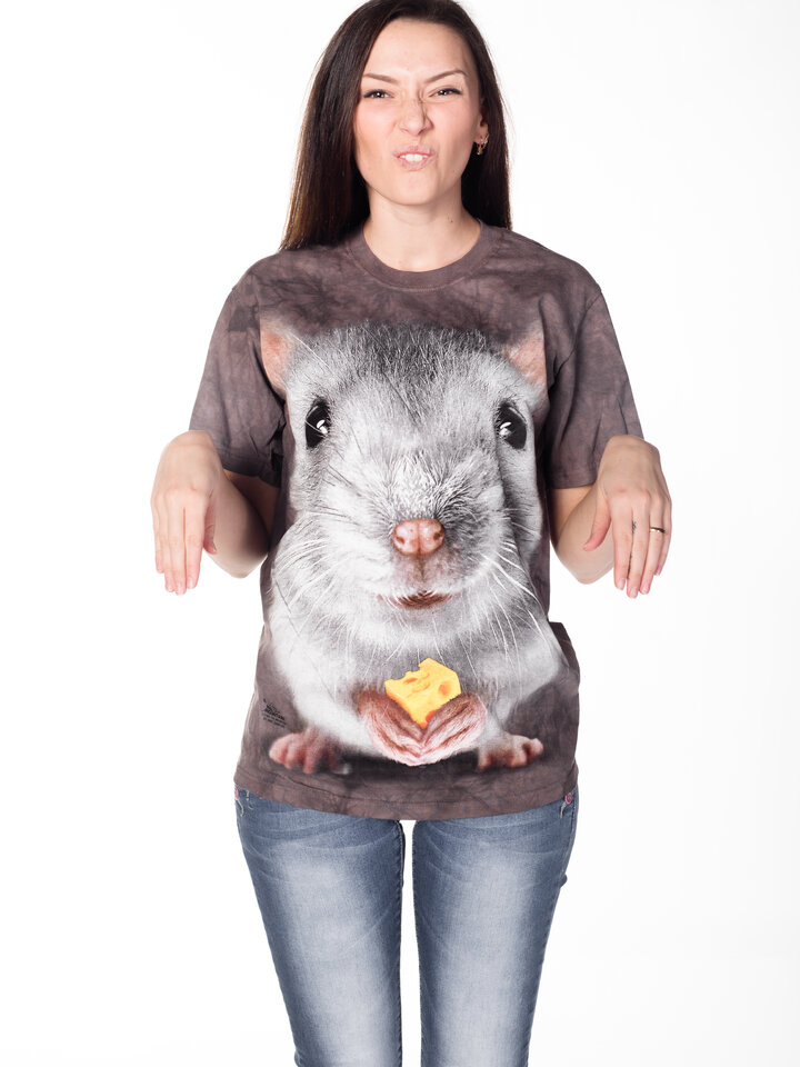 Lifestyle foto Big Face Grey Mouse