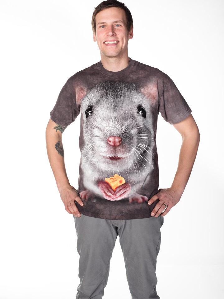Pre dokonalý a originálny outfit Big Face Grey Mouse