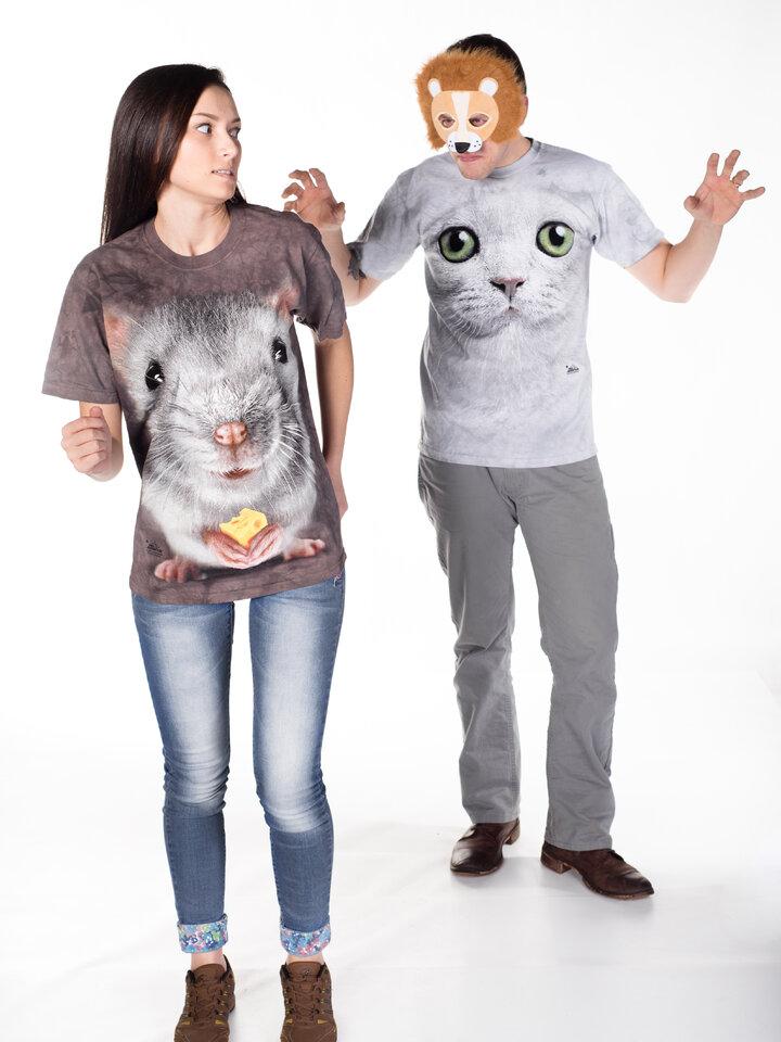 Hľadáte originálny a nezvyčajný darček? Obdarovaného zaručene prekvapí Big Face Grey Mouse