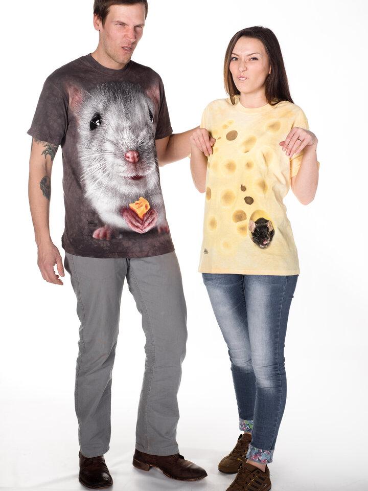 Pomysły na prezenty Big Face Grey Mouse