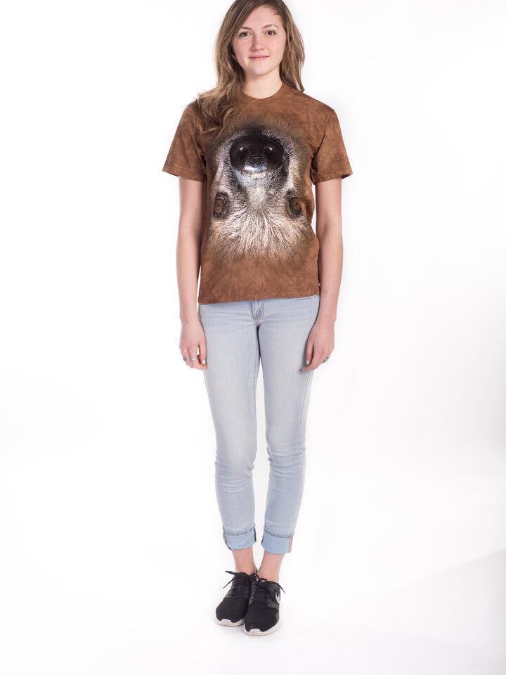Foto Lajhár fejjel lefelé póló