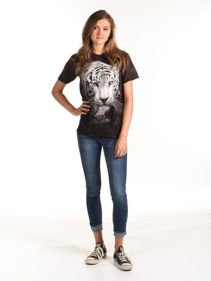 Pre dokonalý a originálny outfit Tričko Odraz bieleho tigra