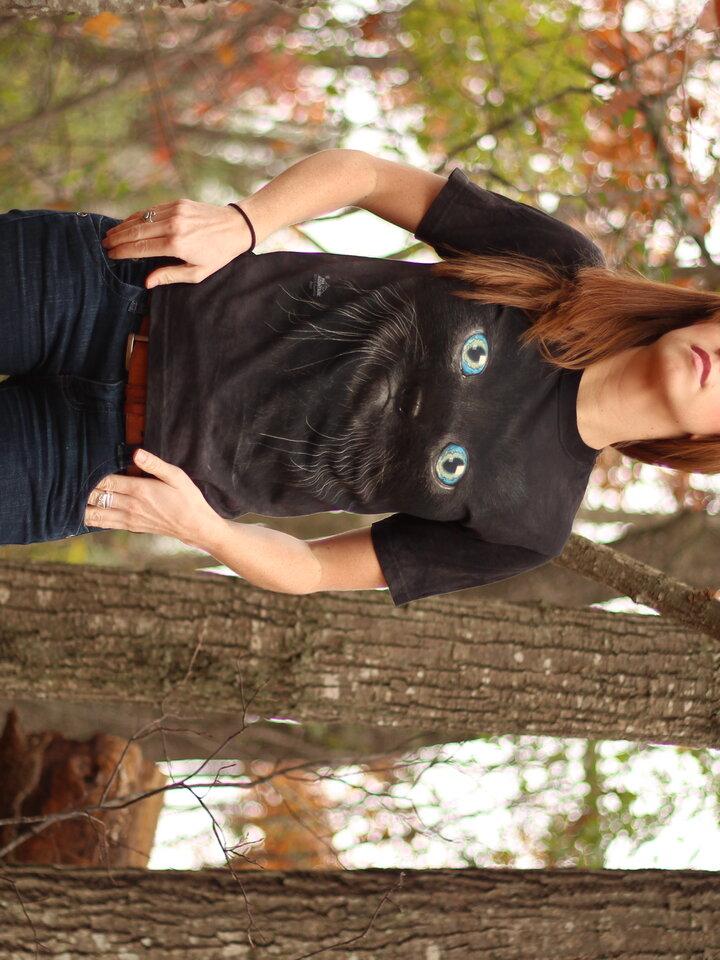 Geschenktipp T-Shirt Schwarzes Baby Kätzchen