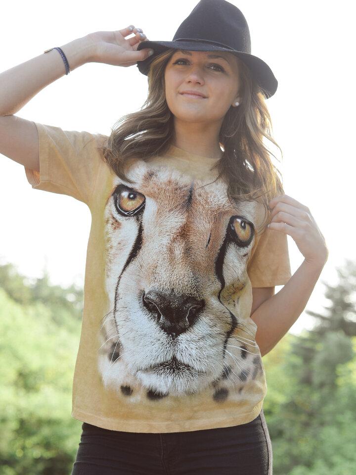 Tip na darček Tričko Tvár geparda