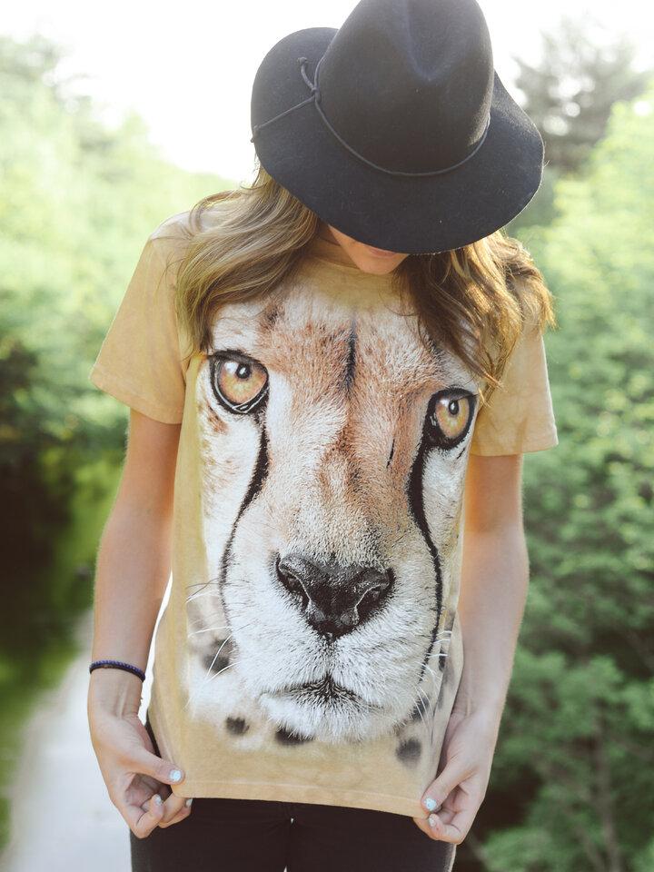 Potešte sa týmto kúskom Dedoles Tričko Tvár geparda