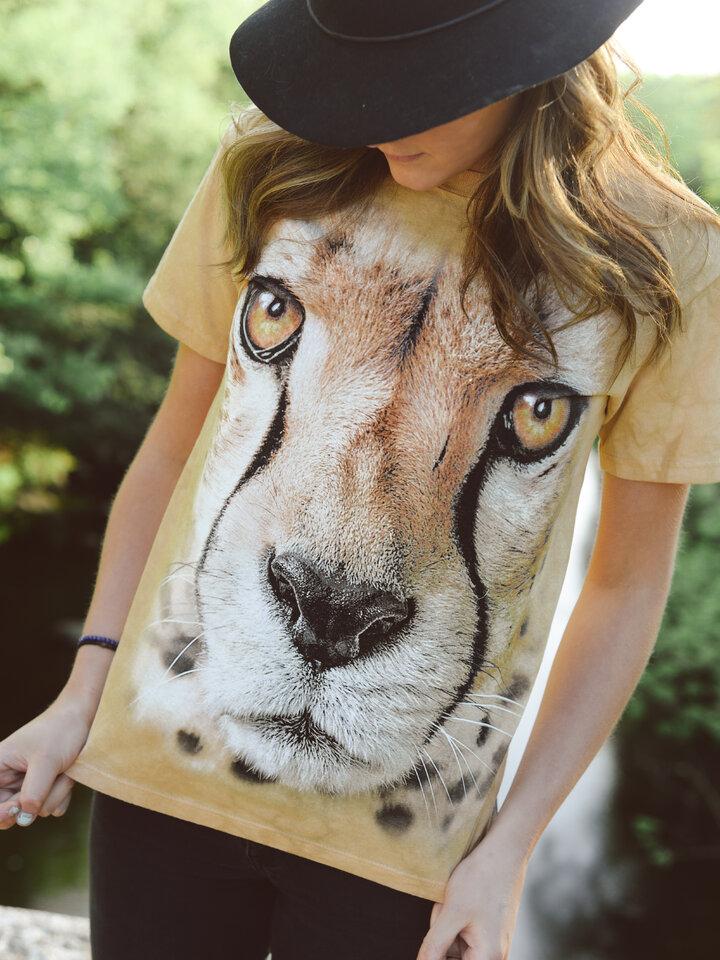 Pre dokonalý a originálny outfit Tričko Tvár geparda