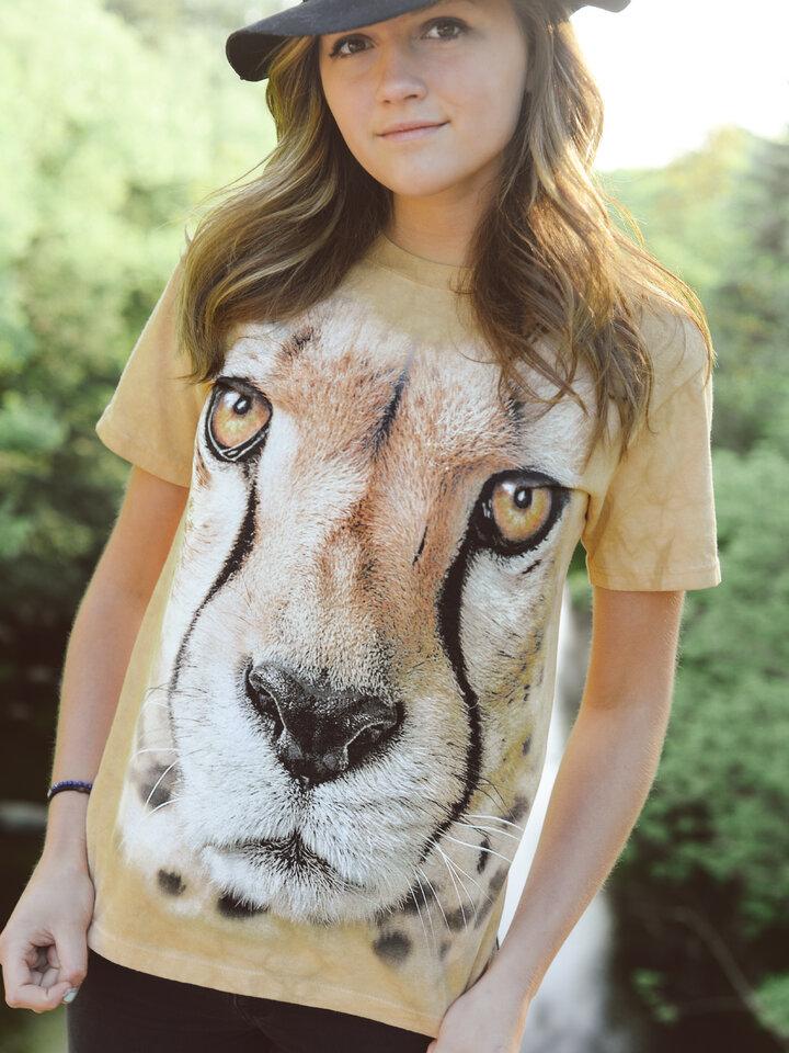 Obrázok produktu Tričko Tvár geparda