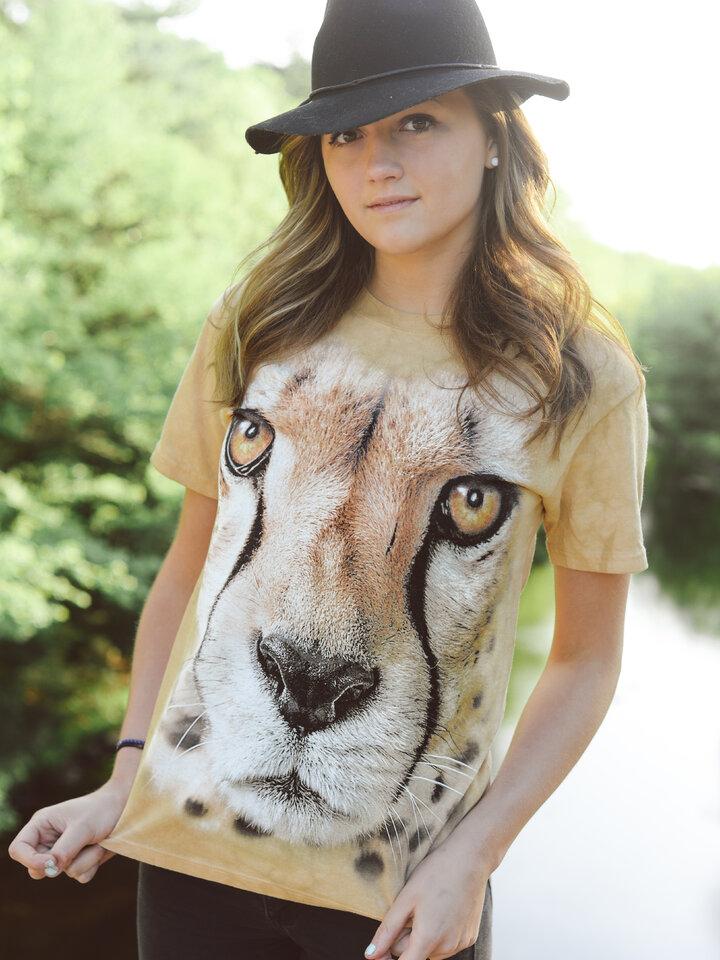 Výnimočný darček od Dedoles Tričko Tvár geparda