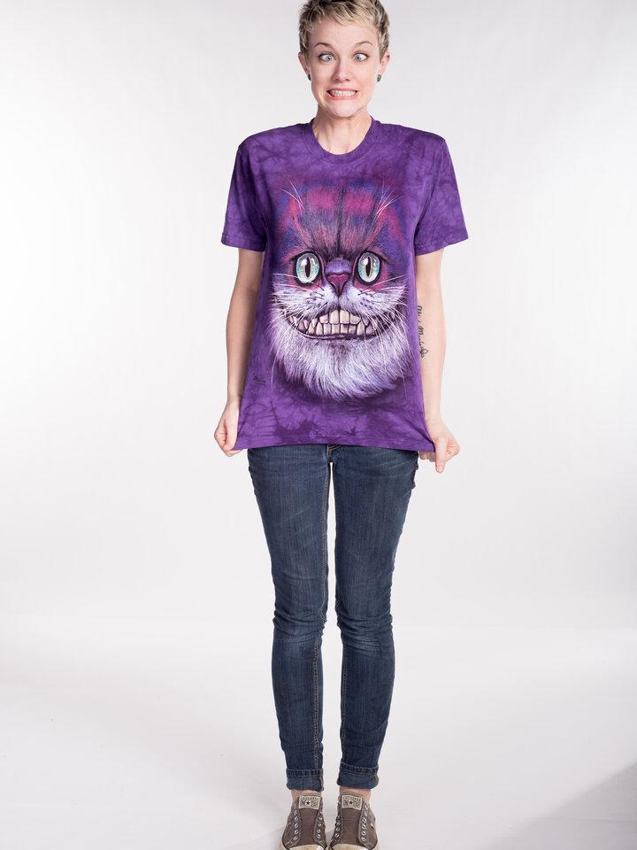 Potešte sa týmto kúskom Dedoles Tričko Mačka Škľabka z Alice v krajine zázrakov