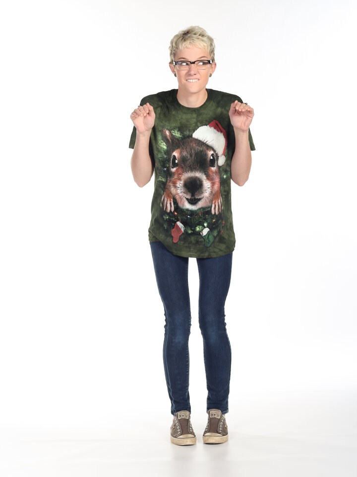 Potěšte se tímto kouskem Dedoles Tričko Vánoční veverka