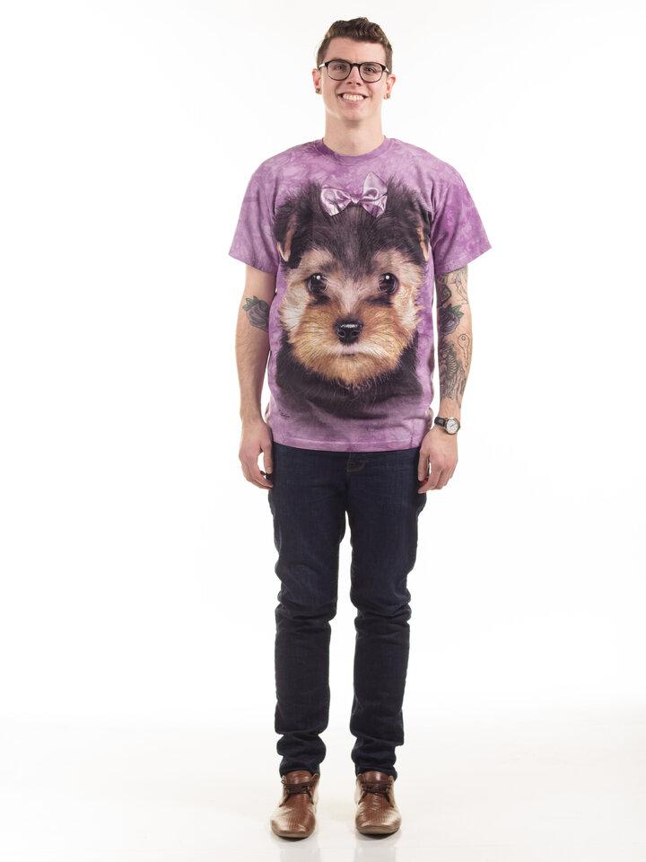 Bereiten Sie sich Freude mit diesem Dedoles-Stück T-Shirt Yorkshire Terrier Welpe