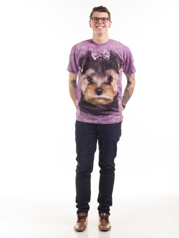 Ausverkauf T-Shirt Yorkshire Terrier Welpe
