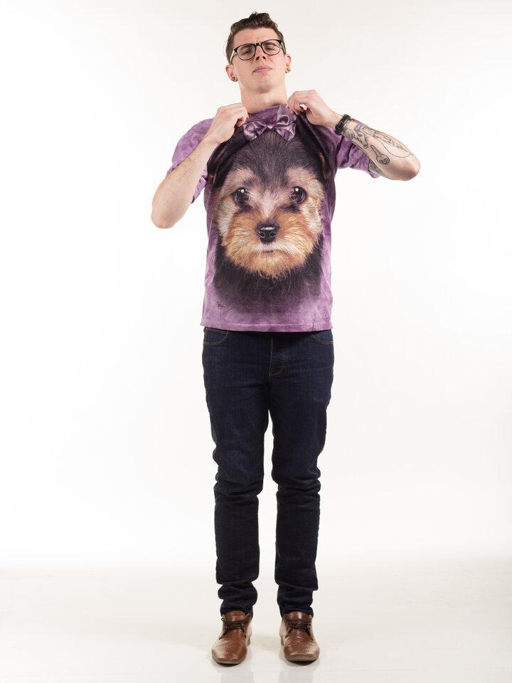 Rabatt T-Shirt Yorkshire Terrier Welpe