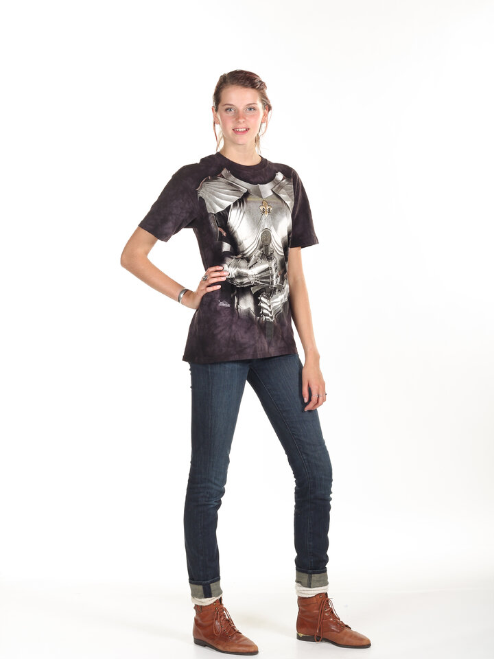 pro dokonalý a originální outfit Tričko Rytířské brnění