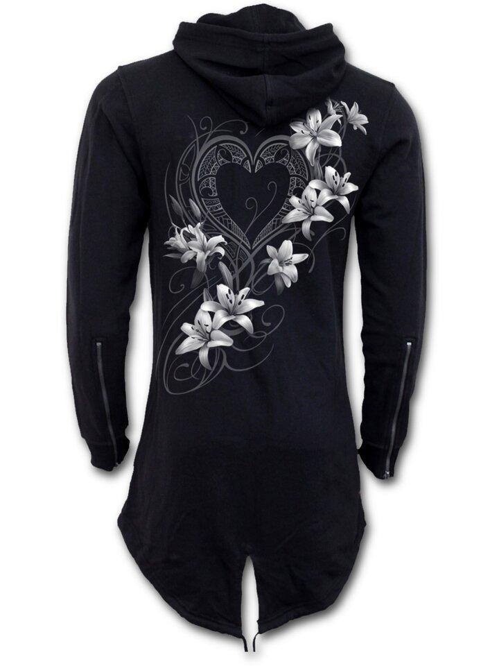 Tip na dárek Dámská mikina Parka Bílé květy