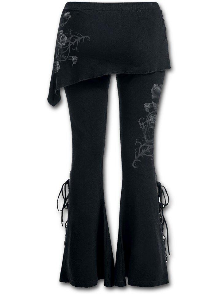 für ein vollkommenes und originelles Outfit Damenhose 2in1 Rosenbeet
