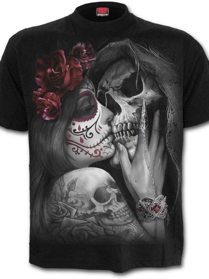 Výnimočný darček od Dedoles Tričko s motívom Mŕtvy bozk