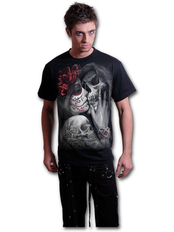 Potešte sa týmto kúskom Dedoles Tričko s motívom Mŕtvy bozk