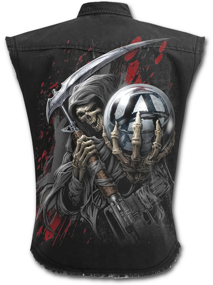 Sale Sleeveless Shirt with design Sons of Anarchy SAMCRO