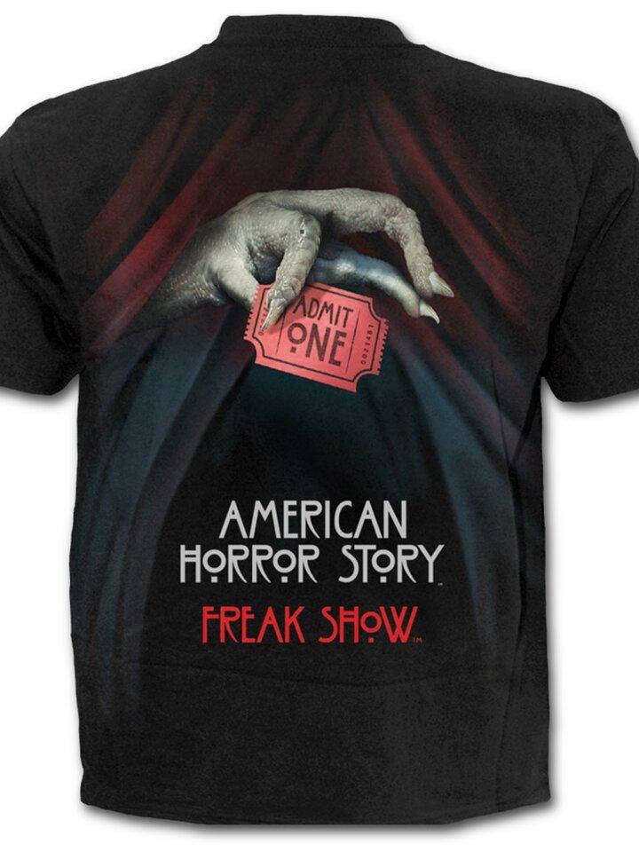 Výnimočný darček od Dedoles Tričko s motívom American Horror Story Freak show