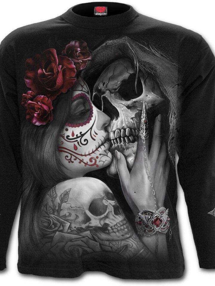 Sale Long Sleeve with design Dead Kiss